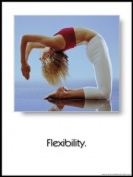 Flexibility 45.7cm X 61cm Laminated Yoga Poster