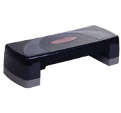 Soozier 76.2cm Aerobic Step / Fitness Stepper w/ 4 Risers