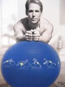 TrainerBall 75 cm Blue
