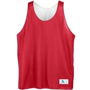 Youth Reversible Mini Mesh League Tank - RED WHITE SMALL