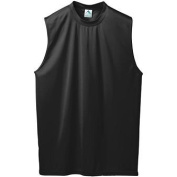 Adult Wicking Shooter Shirt - BLACK - SMALL
