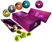 Zumba Fitness Exhilarate Body Shaping System DVD