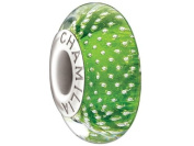 "Authentic Chamilia Murano Charm Mystic Collection ""Lime"" 2116-0089"