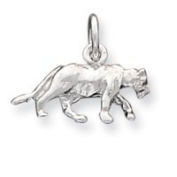 Sterling Silver Panther Charm