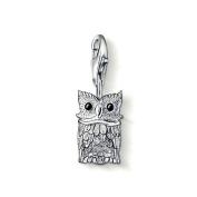 Thomas Sabo Owl Charm, Sterling Silver