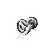 (Holiday Gift and. U2u New a Pair of Stainless Steel Silver @ Earrings
