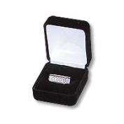 Ring Box Velvet Black