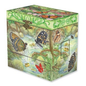Child's Monarchs Butterfly Musical Jewellery Box