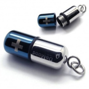 Newartist High Quality Stainless Steel Jewellery Pendant - Pill Cross Necklace Pendant -3 Colours