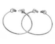 Ram .925 Sterling Silver West Indian Bangles