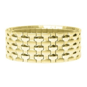 Willow Gold Lite Panther Gold Lite Stretch Cuff Bracelet