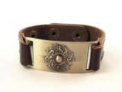 Sun Bracelet, Leather, Adjustable