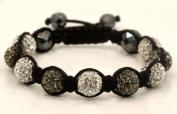 Tibetan Crystal Ball Bracelet BN04 ball width 10mm 7in