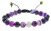Amethyst Gemstone Bracelet Good for Healing and Energy- 91008