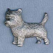 Pewter Cairn Terrier Pin