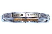 Our Father Italian Charm Bracelet