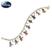Disney Mickey Through The Years Charm Bracelet by The Bradford Exchange