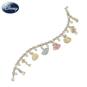 Disney Princess Charm Bracelet With. Crystals