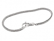 SilveRado(tm) B-(FTB001-18) Sterling Silver Bundle 3.0 mm 7 inch. Bead Bracelet