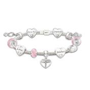 A Nurse's Heart Charm Bracelet by The Bradford Exchange