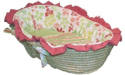 Hoohobbers Leaves Baby Moses Basket