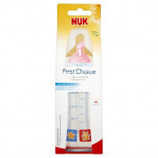 Nuk First Choice Glass Bottle with Latex Teat 240ml