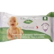 Organyc Wipes, Baby, Sweet Caress - 60 wipes