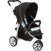 Valco Baby Single Latitude Compact Baby STROLLER-Silk Black