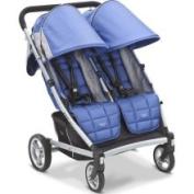 Valco Baby Zee Two Stroller - Blue Opal