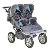 Valco Baby Twin Tri-Mode Stroller Ex - Artic