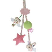 Trousselier Liberty Angel Bunny Pram Toy Rattle 1352-92