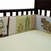 Lambs and Ivy Enchanted Forest Crib Bumper Enchanted Forest Decor