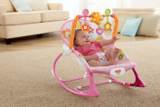 Fisher-Price Infant-to-Toddler Rocker, Pink Bunny Pattern