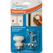 Dreambaby L827 Grip-Safe MagnetiGrip Magnetic Knob with 4 Screws