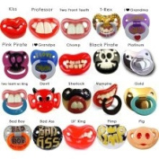 Billy Bob Two Front Teeth Baby Bugs Pacifier
