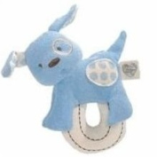 Gund Love Our Earth Baby Teether Blue Feeding Pa