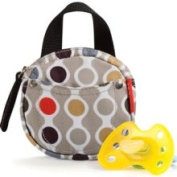 Skip Hop Pacifier Pocket (protected by Agion) - Wave Dot