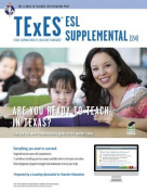 Texas Texes ESL Supplemental (154) W/Online Practice Tests