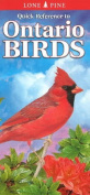 Quick Reference to Ontario Birds