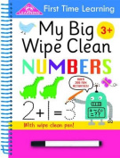 First Time Learning Wipe Clean- Numbers