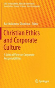 Christian Ethics and Corporate Culture