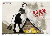 Street Art (Postcard Book)