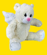 Recordable 41cm Lullaby Angel Bear with 1 Minute Digital Recorder