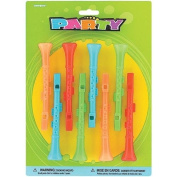Party Favours 8/Pkg-Toy Clarinets