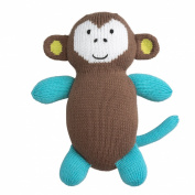 Fair Indigo Joobles Mel the Monkey Organic Stuffed Animal