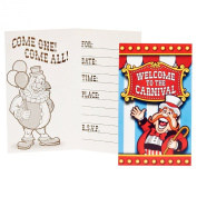 Under the Big Top Invitations Party Accessory