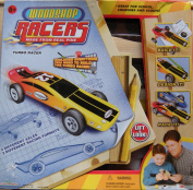 Woodshop Racers ~ Made From Real Pine ~ Turbo Racer