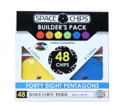Monkey Business Sports Space Chips Builder Pack - Pentagons