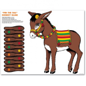 Donkey Game (mask & 12 tails included) Party Accessory  (1 count)