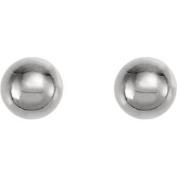 Titanium Ball Piercing Earrings Pair in 4mm - Hypoallergenic For Sensitive Ears